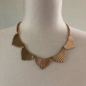 Gold H&M necklace